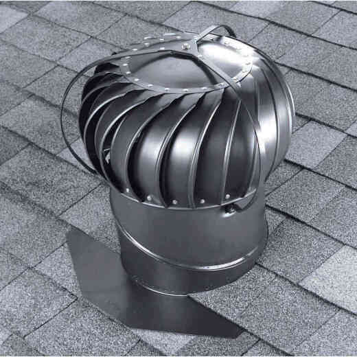 Airhawk 12 In. Wetherwood Aluminum Externally Braced Wind Turbine