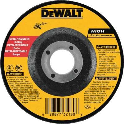 DeWalt HP Type 27 5 In. x 0.045 In. x 7/8 In. Metal/Stainless Cut-Off Wheel