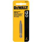 DeWalt Square Recess #2 2 In. Power Screwdriver Bit Image 1