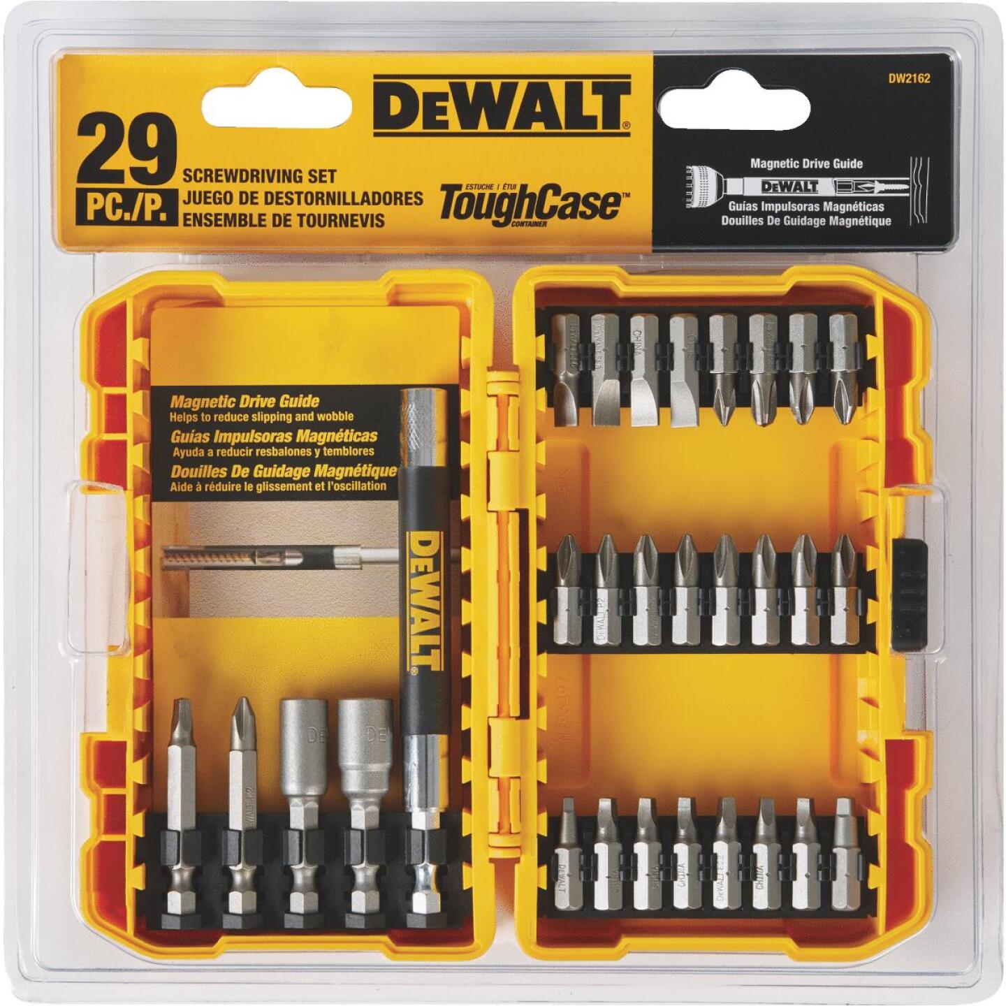 DeWalt 29-Piece Screwdriver Bit Set Image 3