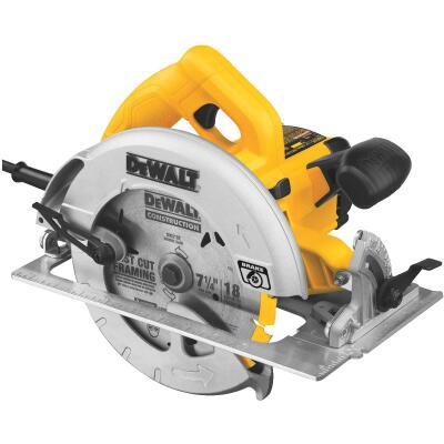 DeWalt 7-1/4 In. 15-Amp Lightweight Circular Saw
