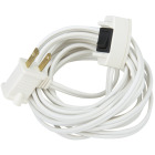 Do it 15 Ft. 16/2 White Extension Cord with Switch Image 4