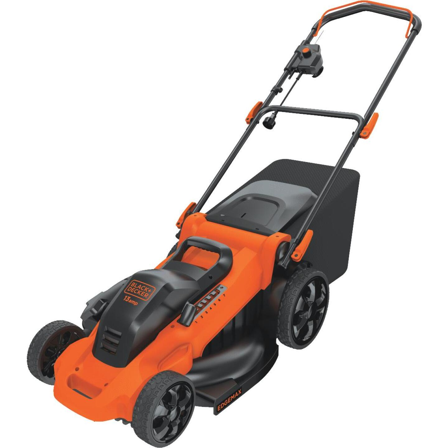 Black & Decker 20 In. 13A Push Electric Lawn Mower Image 5