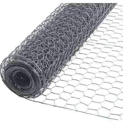 1 In. x 60 In. H. x 50 Ft. L. Hexagonal Wire Poultry Netting
