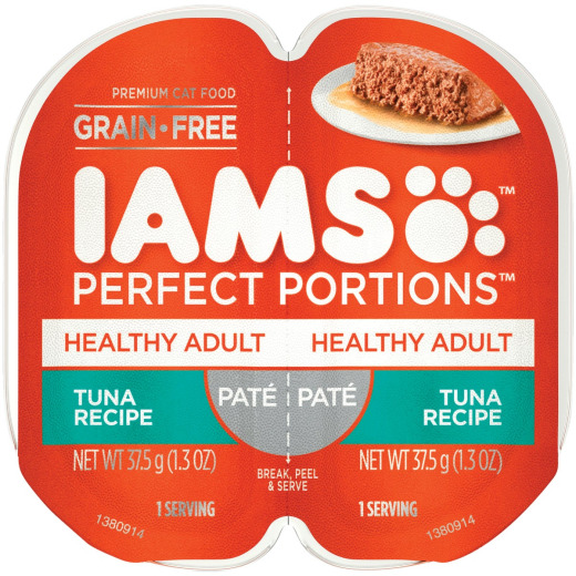 Iams Perfect Portions Healthy Adult 2.6 Oz. Tuna Flavor Adult Wet Cat Food