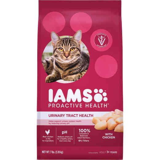 Iams Proactive Health Urinary Tract Formula 7 Lb. Chicken Flavor Adult Dry Cat Food